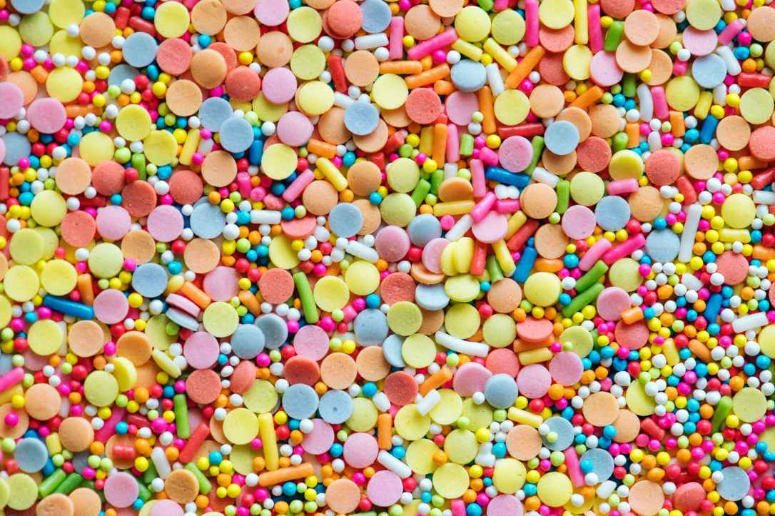 bunch of candies